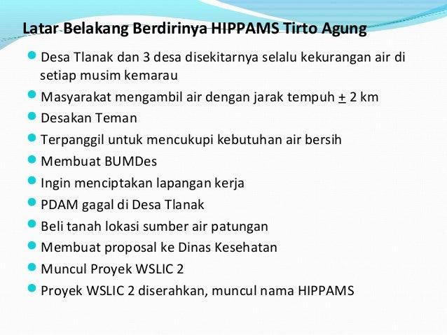 Bahan RAT HIPPAMS Tirto Agung Tahun 2014 Slide 3