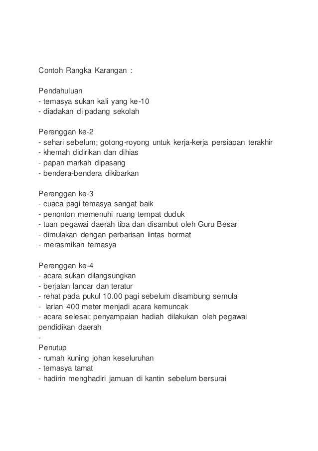 Contoh Karangan Gotong Royong - Tweeter Directory