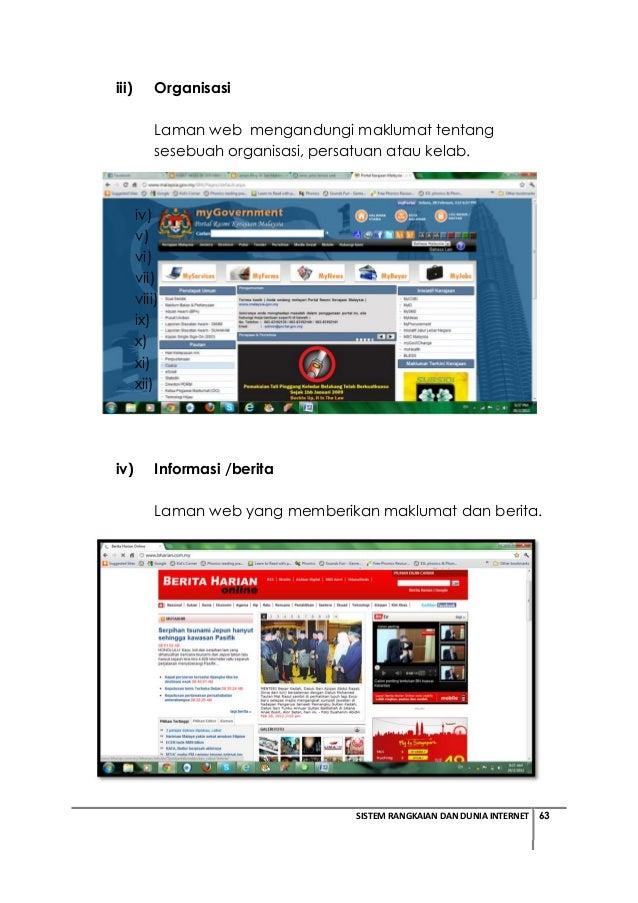 Tmk Tahun 5 Modul Pdp Sistem Rangkaian Dan Dunia Internet Bhg 6