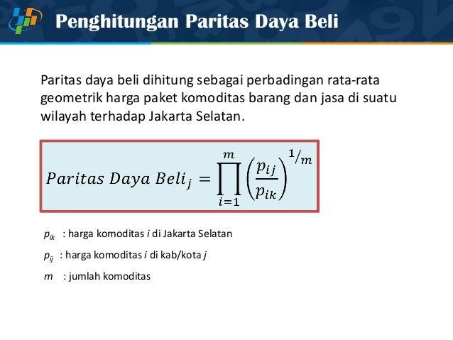 paritas daya beli oleh nanik linawati Prudential life assurance / oleh angelina yacomina  / indah linawati octavia rs 6588342  pengujian paritas daya beli relatif di indonesia tahun 2001-2003.