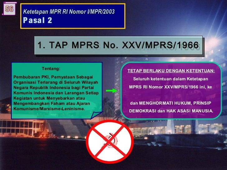 TAP MPR NO 1 TAHUN 2003 PDF DOWNLOAD