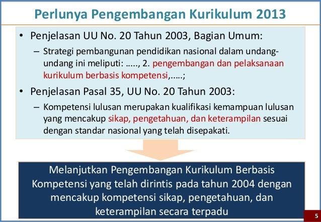 Bahan Uji Publik Kurikulum2013