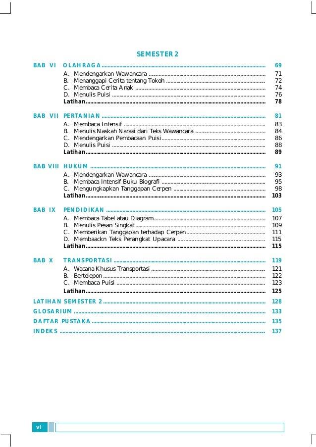Bahasa dan sastra indonesia 1 dwi hariningsih - SMP kls 7
