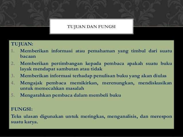 Bahasa indo teks ulasan