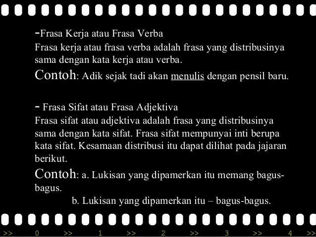 Frasa Dalam Bahasa Indonesia