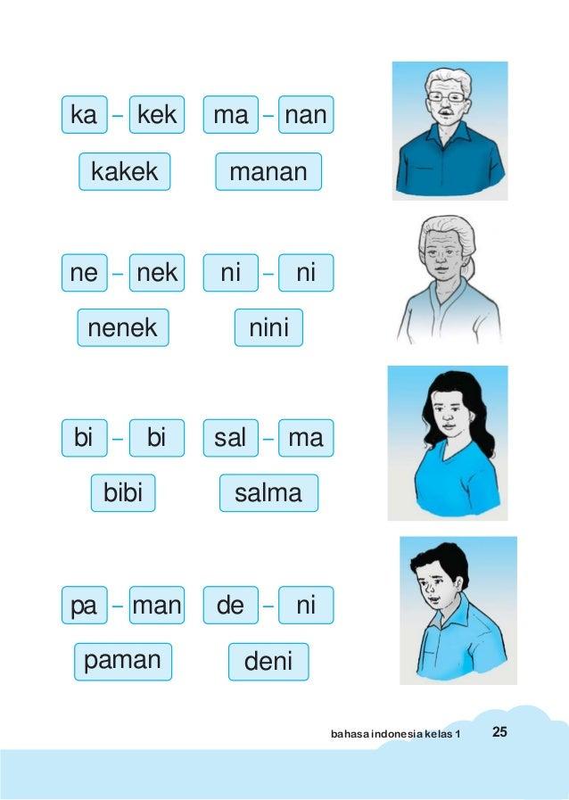 Bahasa Indonesia Kelas 1 Sekolah Dasar