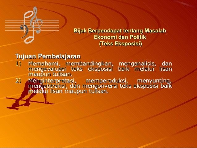 Bahasa Indonesia Teks Eksposisi