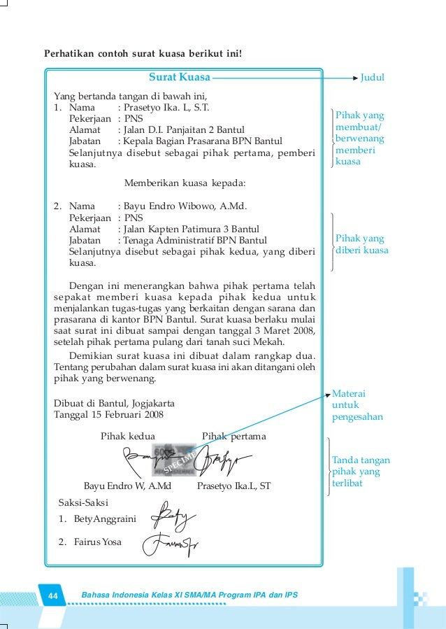 Tugas Bahasa Indonesia Kelas 11 Proposal Hal 153