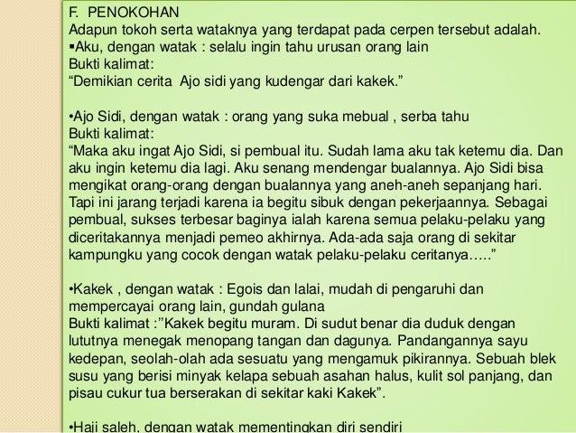 Bahasa Indonesia Cerpen Robohnya Surau Kami