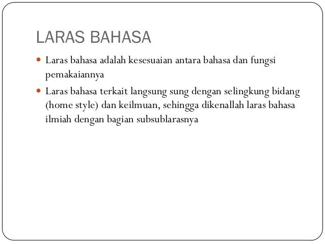 Bahasa Indonesia Full