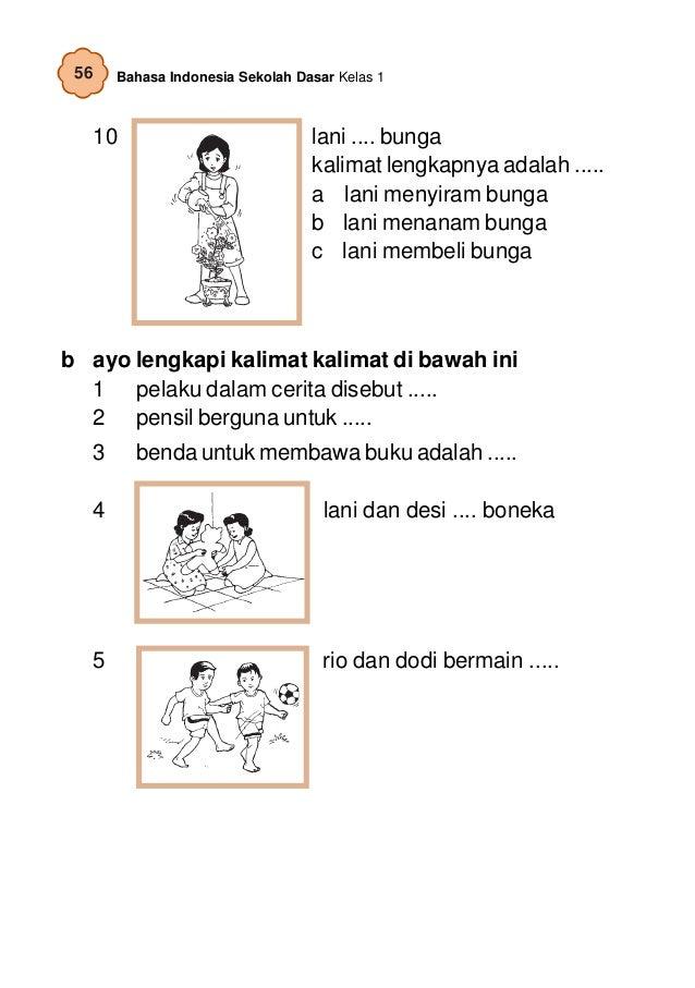 Contoh Soal: Soal Cerita Bahasa Indonesia Untuk Anak Sd ...
