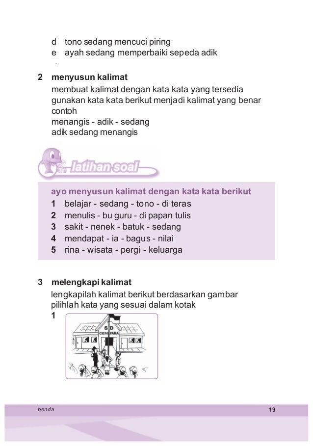 contoh kalimat petunjuk untuk anak sd