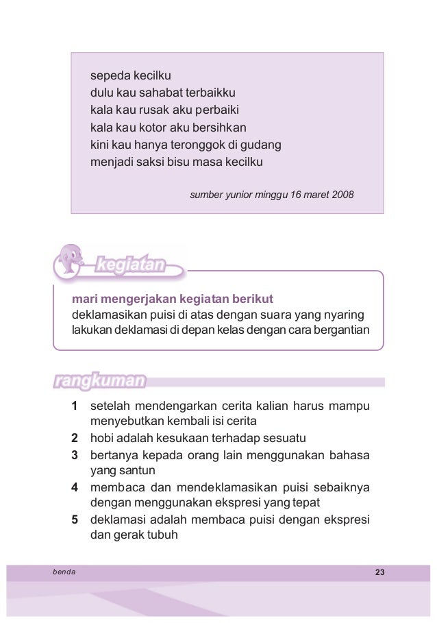 Bahasa Indonesia Kelas 2 Samidi
