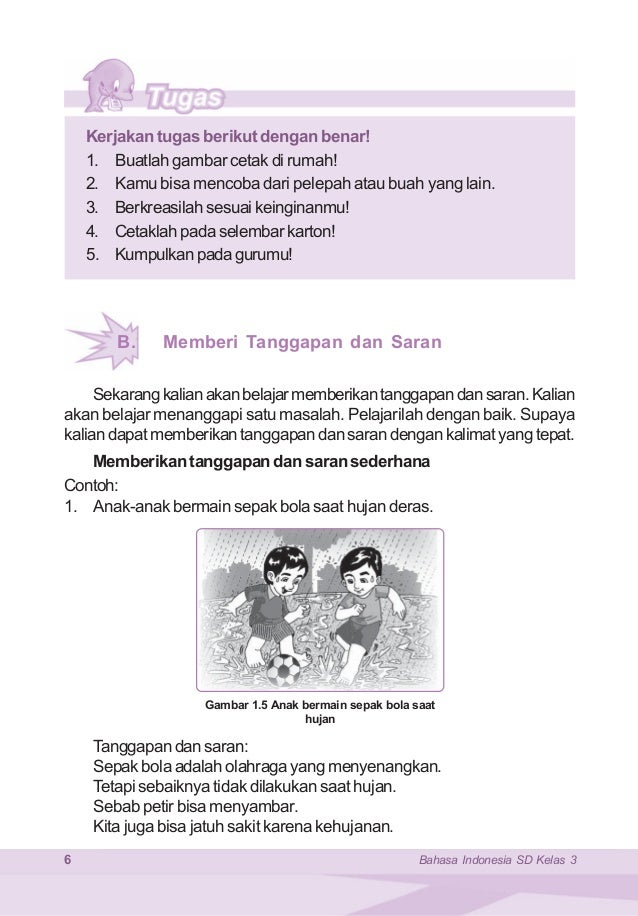 Bahasa Indonesia Kelas 3 Samidi