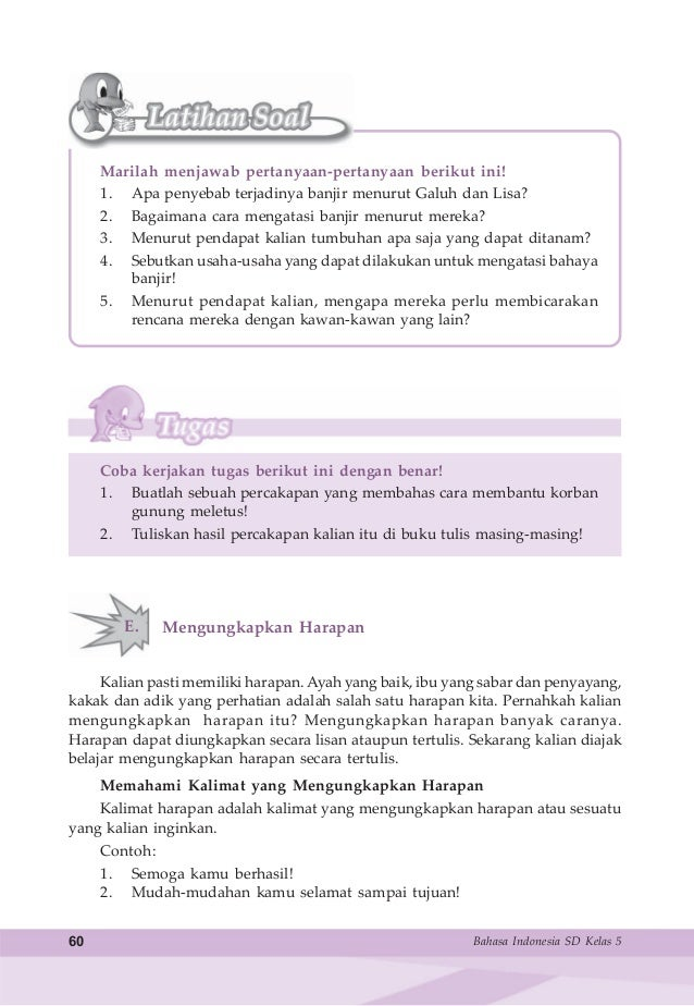 Bahasa Indonesia Untuk Sd Mi Kelas 5 Samidi Tri Puspitasari
