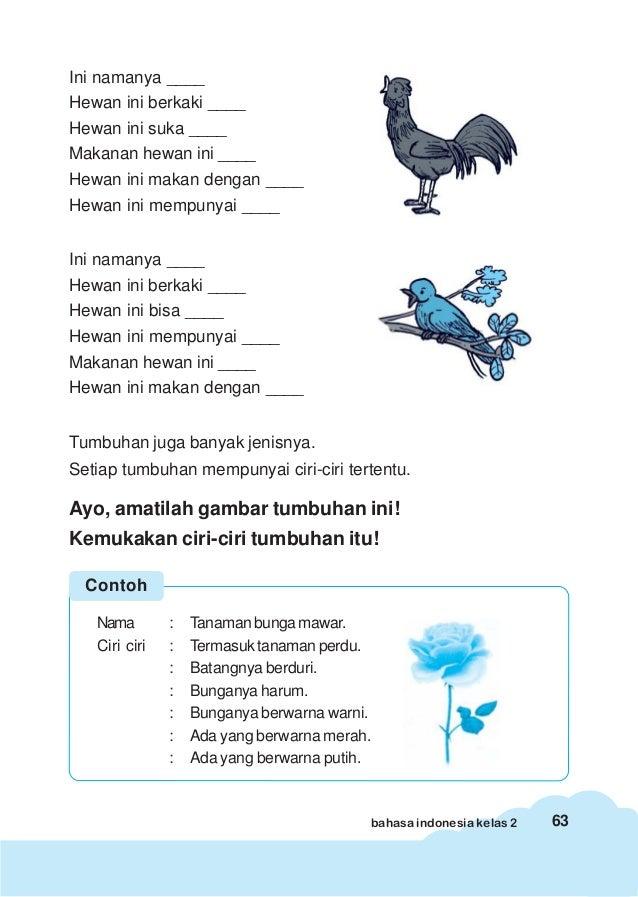 Bahasa Indonesia Kls 2