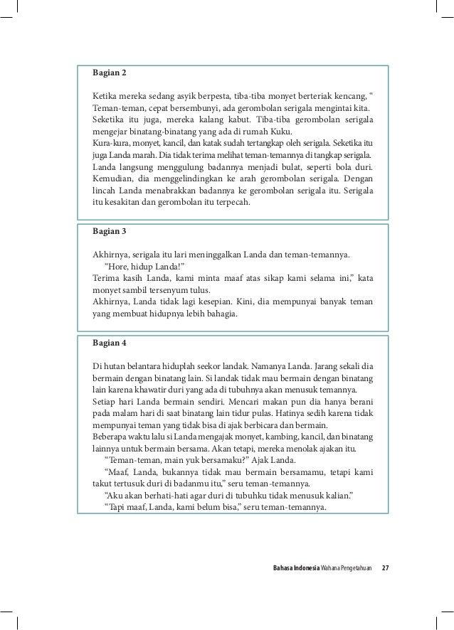 Bahasa Indonesia Kurikulum 2013 Kelas 8 Guru Ilmu Sosial