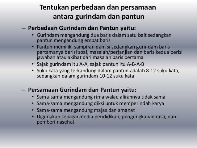 Bahasa Indonesia Syair, Puisi, Gurindam