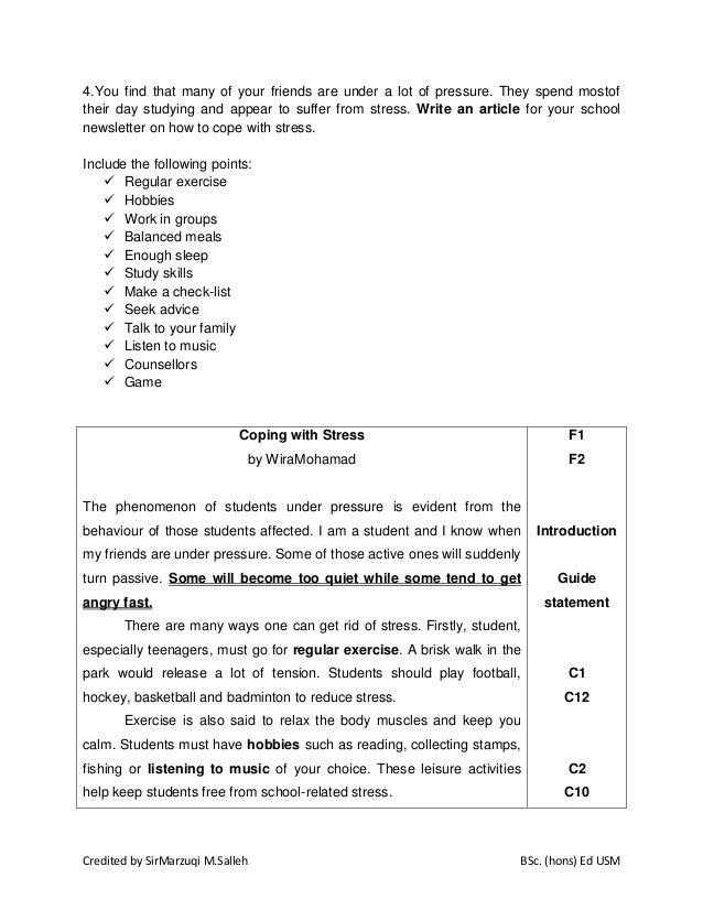 Bahasa Inggeris Spm Kertas 1