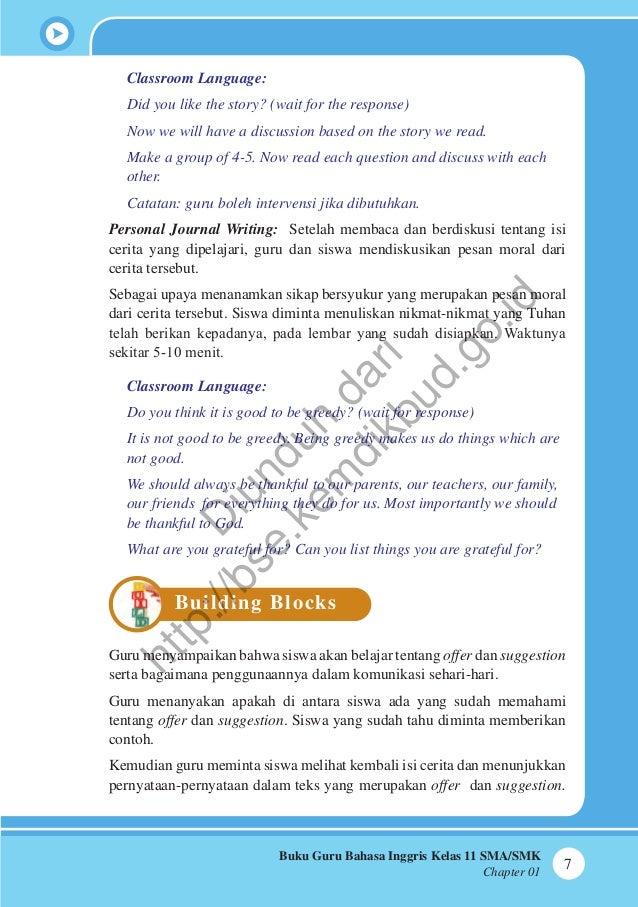 Bahasa Inggris Buku Guru