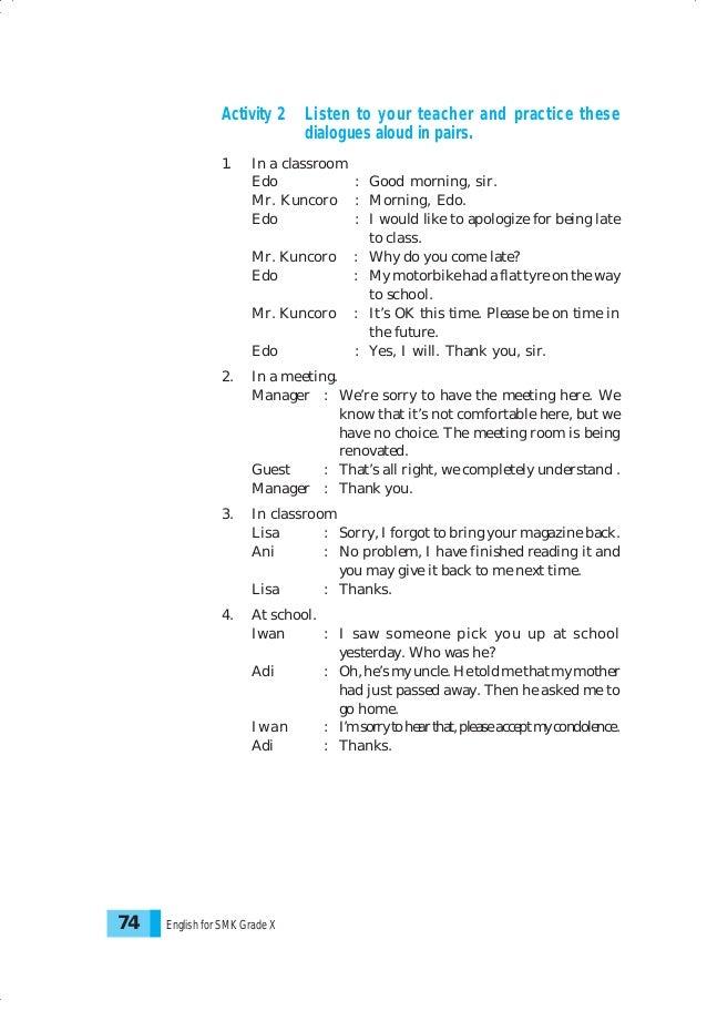 Bahasa inggris smk kelas 10 stopboris Image collections