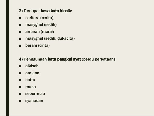 Kata Kata Cinta Sedih Melayu