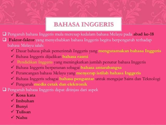 Bahasa Melayu Unsur Asing Dalam Bahasa Melayu Sem 1