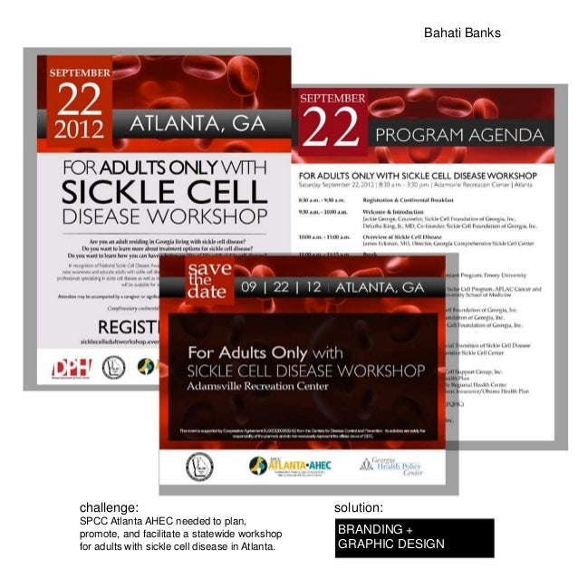 Bahati Bankschallenge:                                        solution:SPCC Atlanta AHEC needed to plan,promote, and facil...