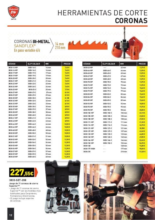 Bahco 3834-SET-72 JGO DE CORONAS VIP 72