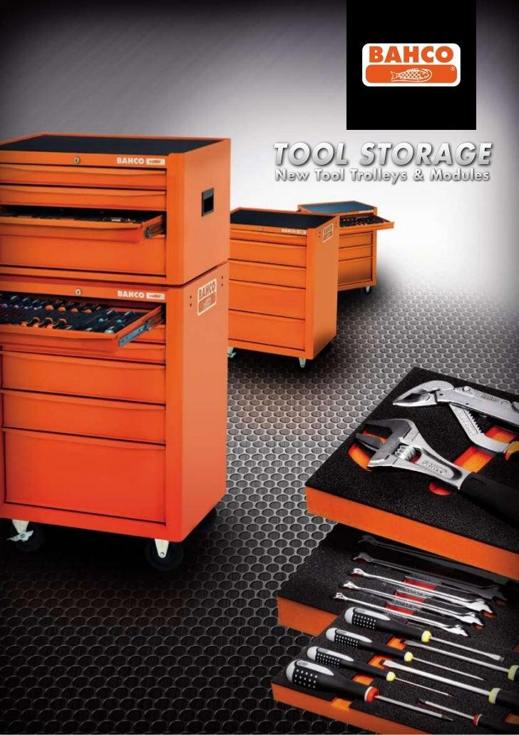 TOOL STORAGENew Tool Trolleys & Modules