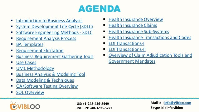 business analysis healthcare online  u0026 classroom training