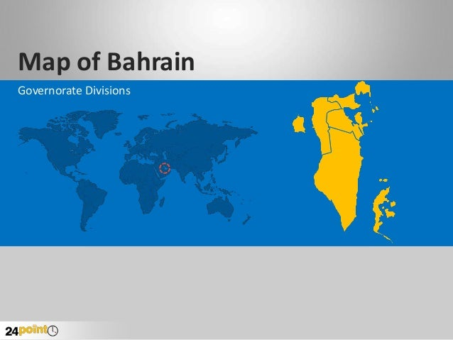 Map of Bahrain Governorate Divisions