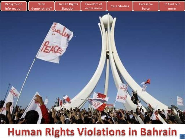 Background Information  Why demonstrate?  Human Rights Situation  Freedom of expression?  Case Studies  Excessive force  T...