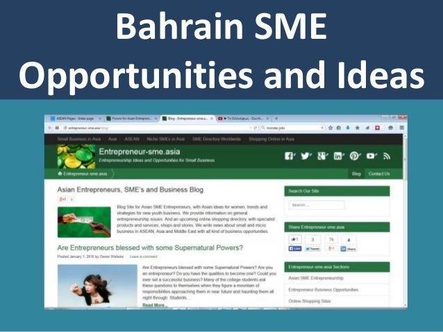 Bahrain best small business ideas and opportunities bahrain sme opportunities and ideas freerunsca Images