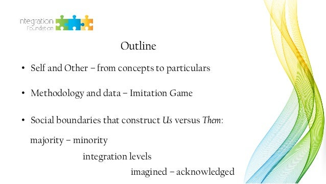 Dr. Daria Bahtina: Perception and construction of social boundaries  Slide 2