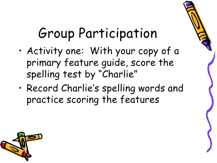 primary spelling inventory feature guide