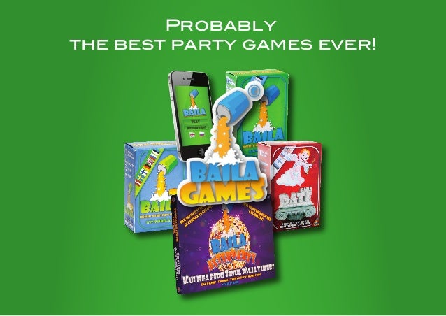 Probablythe best party games ever!