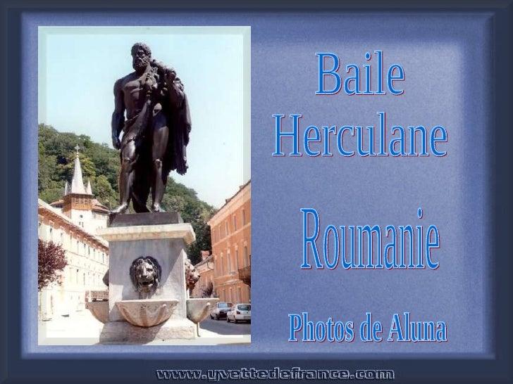 Baile Herculane Roumanie Photos de Aluna