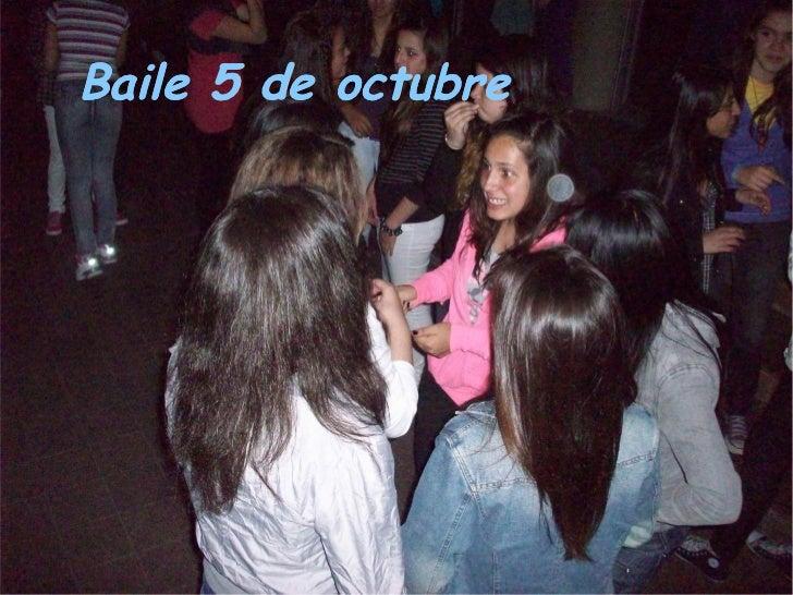 Baile 5 de octubre