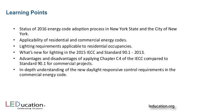 Speaking In Code Demystifying The 2016 New York Energy Code