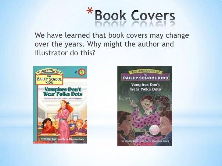 Children School Book Cover : Bailey school kids alternate book cover assignment