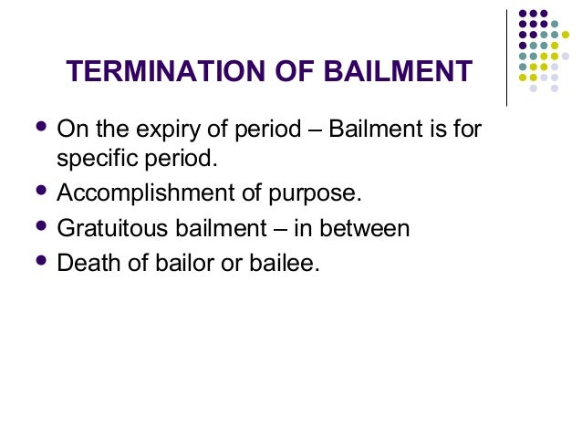 An essay on law of bailments