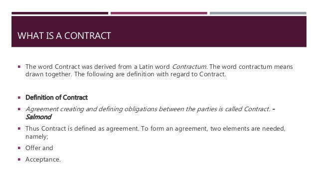 Bailment Contracts