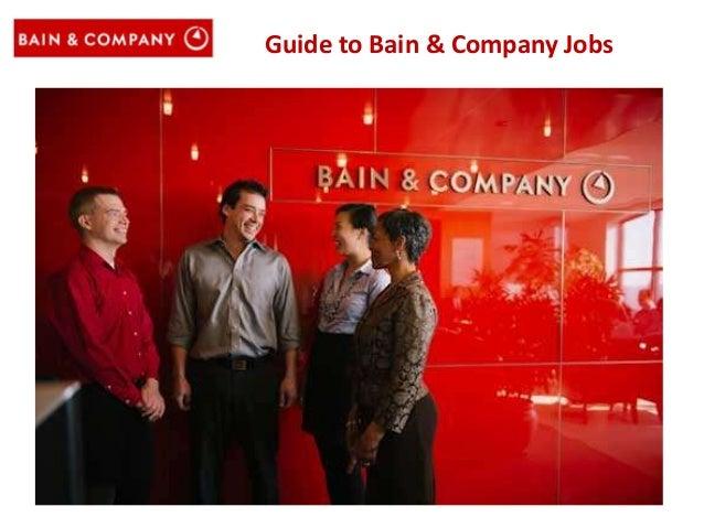 Guide to Bain & Company Jobs