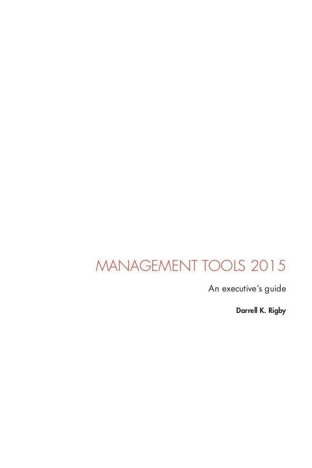 Bain guide management tools 2015 executives guide for S k bain 2015