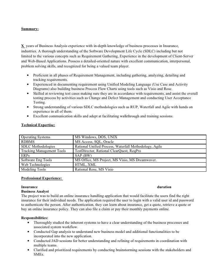 Resume Healthcare Business Analyst - Healthcare Informatics Milliman