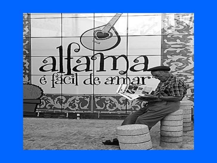 Bairro de alfama   portugal