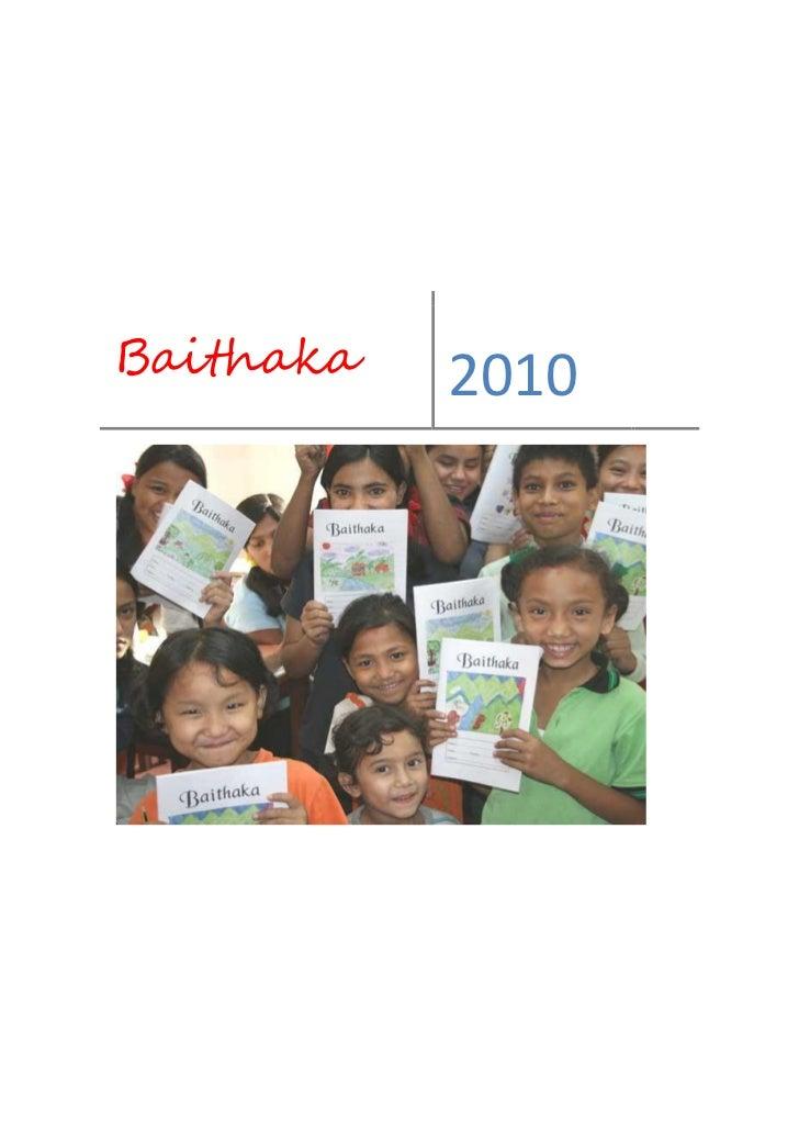 Baithaka   2010