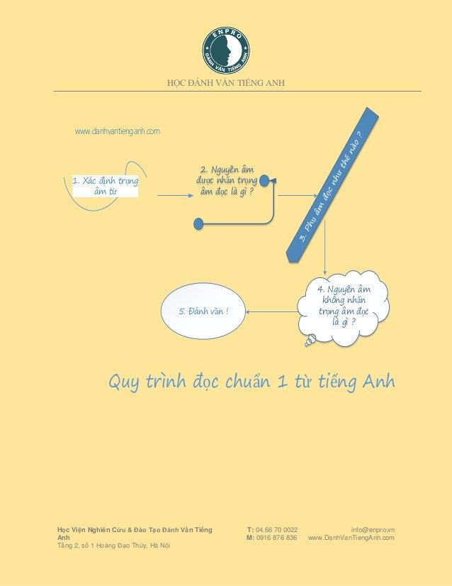5 Chiêu Thức Giúp Viết Phiên Âm và Đọc Tất Cả Các Từ Slide 2