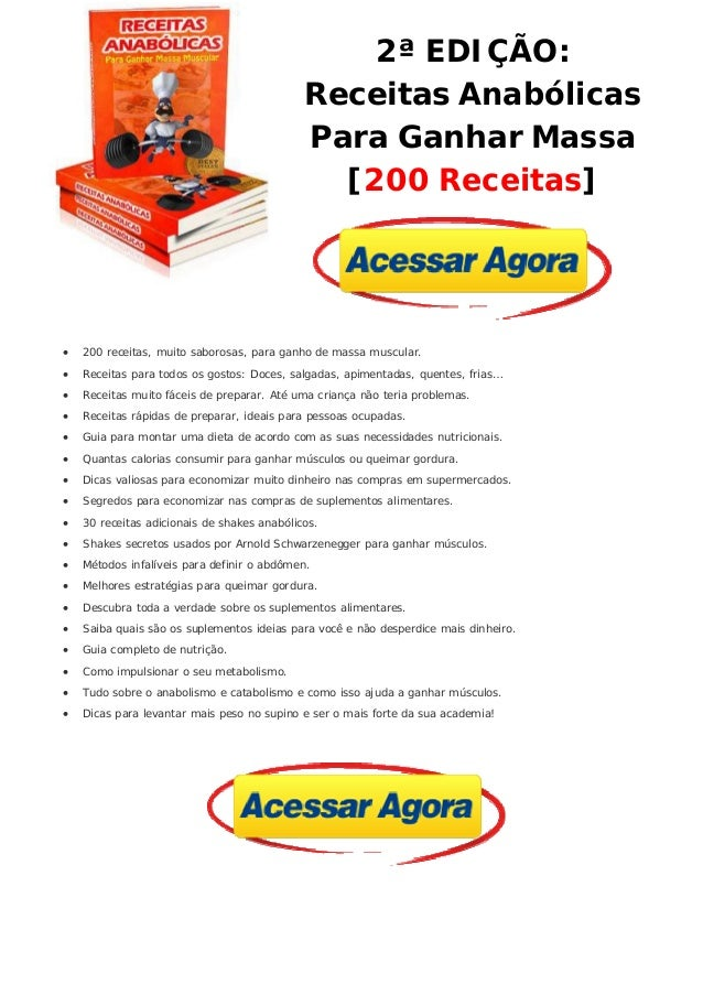 Gratis anabolicas 300 receitas pdf